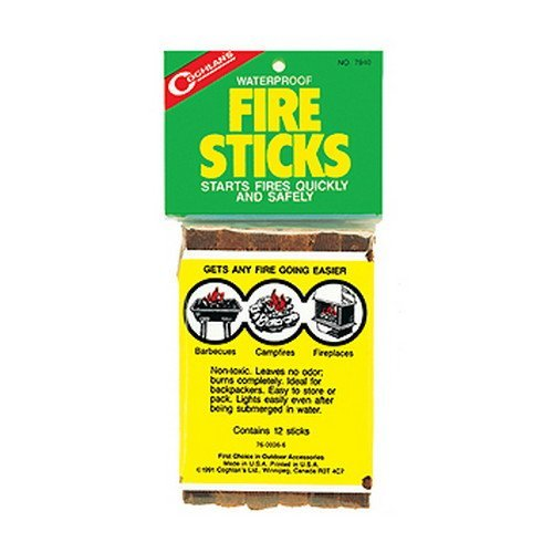 Coghlan's 7940 Fire Sticks,Brown,12 Count