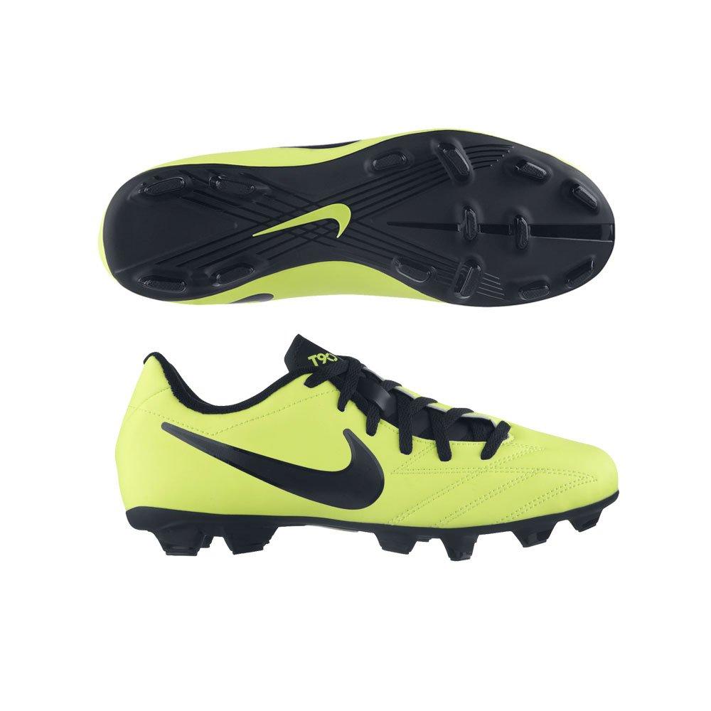 Nike Kinder Nocken - Fussballschuh JR T90 SHOOT IV FG gelb   schwarz