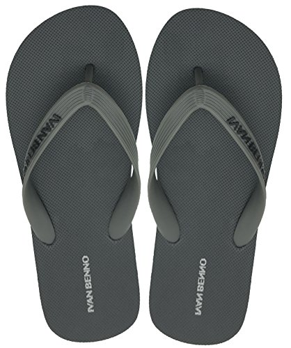 Flip Shoes Flops Finoceans Athletic Slipper Men's Comfort Beach Grey Sandals Tong SF5qwp