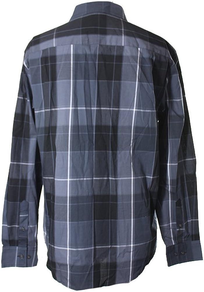 Alfani Mens Plaid Ls Button Up Shirt
