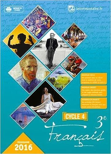 Téléchargements gratuits ebook Français 3e Cycle 4 : Manuel élève en français MOBI