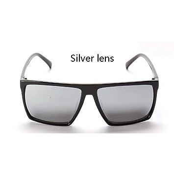 LETAM Gafas de sol Montura Skull Gafas de Sol cuadradas para ...