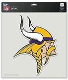 NFL Minnesota Vikings Die-Cut Color Decal, 8″x8″, Team Color