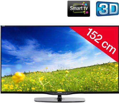 SHARP AQUOS 60LE651E - negro - Televisor LED 3D Smart TV: Amazon.es: Electrónica