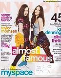 May 2009 *NYLON* Magazine: Featuring,