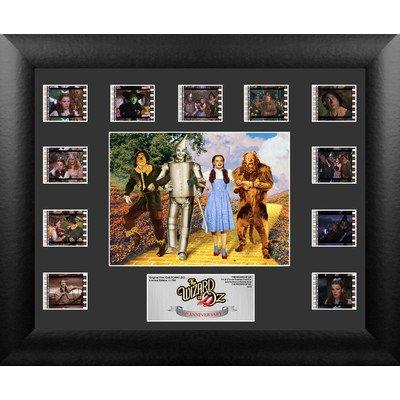Wizard of Oz 75th Anniversary Mini Montage FilmCell Presentation 2 Framed Memorabilia