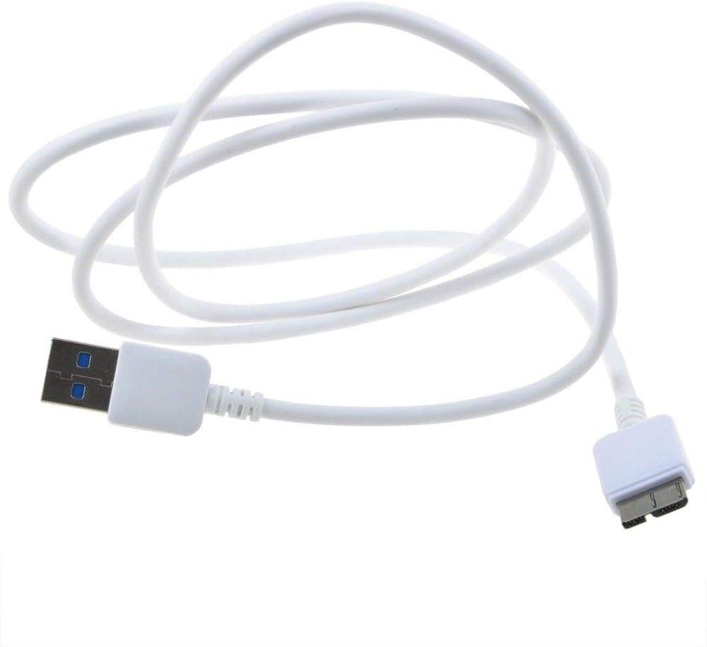 yan White USB3.0 Data Cable Cord for Seagate Backup Plus Mac STCB3000900 STCB2000900