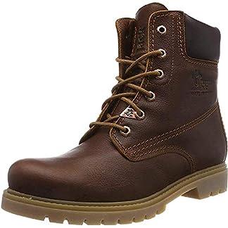 Panama Jack Women's Panama 03 Combat Boots, Brown (Cuero B44), 9 UK 2