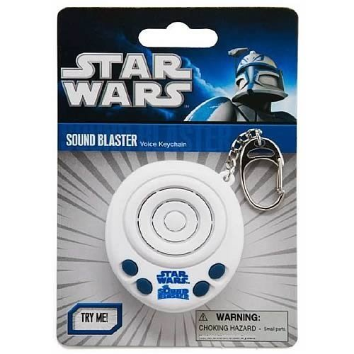 Doctor Who Star Wars Soundblaster Keychain Toy
