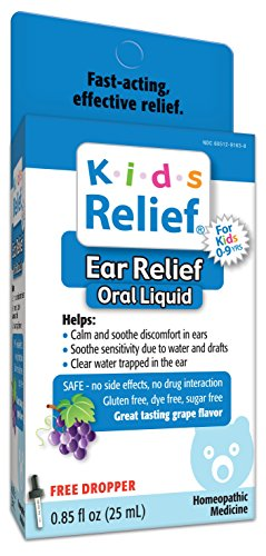 Kids Relief Ear Relief (Best Over The Counter Swimmers Ear Medicine)