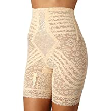 Rago High Waist Long Leg Shaper Girdle (6207) XL/Beige