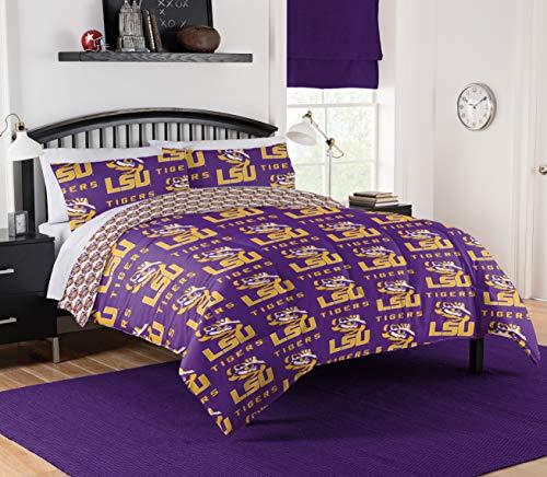 Northwest NCAA LSU Tigers Full Bed in Bag Set #690572697
