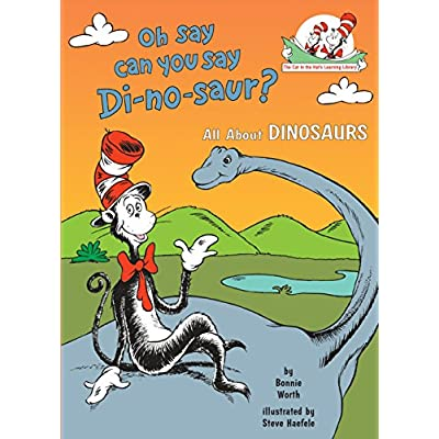 Toys for cats Oh Say Can You Say Di-no-saur?: All About Dinosaurs (Cat in the Hat's Learning Library) [tag]