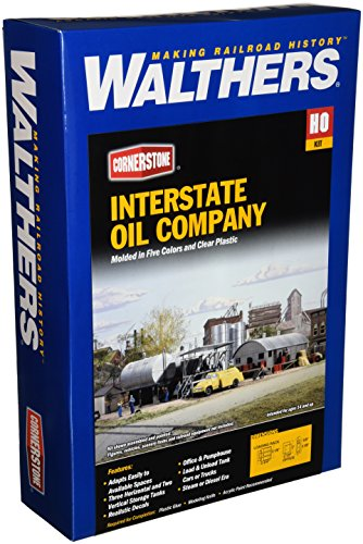 Walthers Cornerstone Series Kit HO Scale Interstate Fuel & Oil