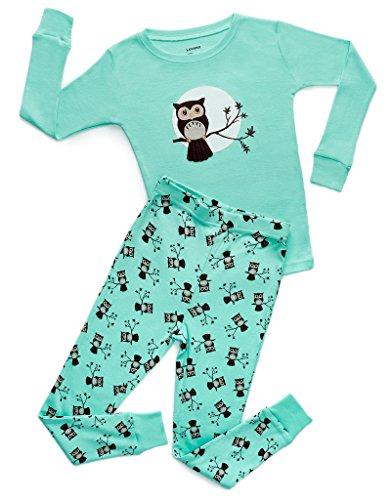 2c6e9bd7bf8 Leveret Kids   Toddler Pajamas Owl Boys Girls 2 Piece Pjs Set 100% Cotton  Sleepwear