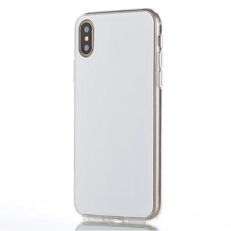 custodia iphone x bianca