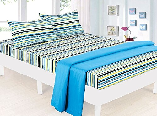 Bed Sheet Bedding Set, Beautiful Children Prints for Boys / Girls Kids & Teens, Twin (Single) Size