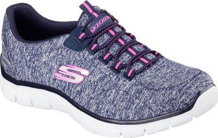Skechers Empire To Heart, Zapatillas de Deporte para Mujer Azul
