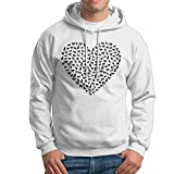 Shuiquwe Love Dog Men's Sports Hoodies XL White