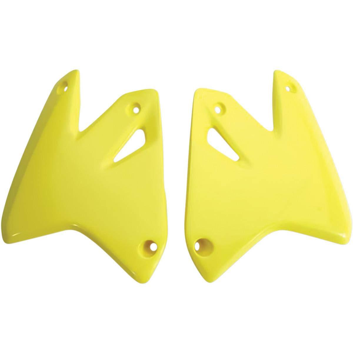 UFO SU03978102 Replacement Plastic for Suzuki RAD CVRS DRZ400 N Yellow