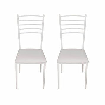 Alpisedia FINO Chaise Metal Blanc 41 X 48 945 Cm