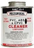 Rectorseal 55929 1/4 Pint Cl-3L Low-Voc Pvc, Cpvc, Abs Cleaner