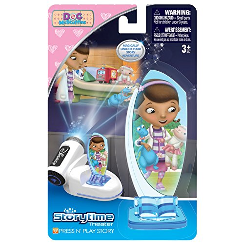 Tech 4 Kids Story Time Theater Press & Play Doc Mcstuffins (Storytime Theater)