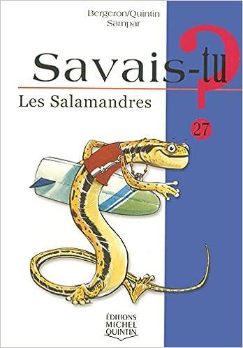En ligne Savais-tu - numéro 27 Les salamandres pdf epub