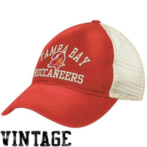 Reebok Tampa Bay Buccaneers Women's Slouch Mesh Adjustable Hat Adjustable – DiZiSports Store