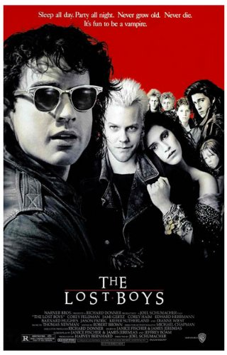 The Lost Boys Poster Movie 11x17 Jason Patric Kiefer Sutherland Corey Haim Jami Gertz Movie MasterPoster Print, 11x17