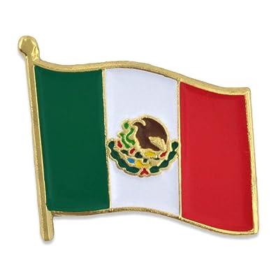 Amazon Pinmarts Mexico Mexican World Flag Enamel Lapel Pin 34