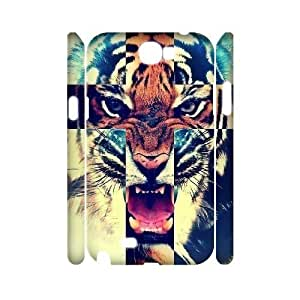 Tiger Roar Cross 3D-Printed ZLB515280 Personalized 3D Phone Case for Samsung Galaxy Note 2 N7100