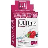 Ultima Replenisher Electrolyte Powder, Raspberry, 20 Count