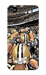Graceyou New Arrival Iphone ipod touch4 Case New Orleans Saints Nfl Football Case Cover/ Perfect Design