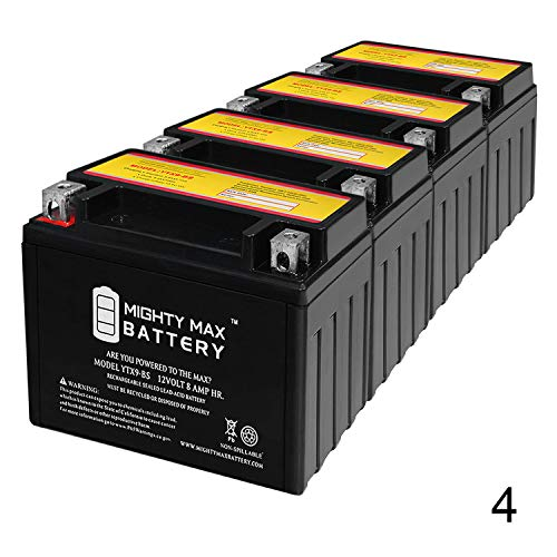 Mighty Max Battery YTX9-BS 12V 8AH Replaces