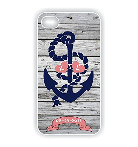IPhone 6 rubber TPU case Bride to Be Wedding Gift Bridal Gift Nautical Anchor Theme Coral and Navy