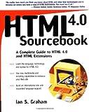 HTML 4.0 Sourcebook, Ian S. Graham, 0471257249