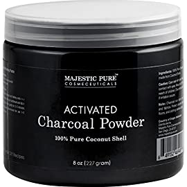 Majestic-Pure-Activated-Charcoal-Powder-for-DIY-Recipes-Facial-Masks-Facial-Scrubs-Knee-Lightening-Underarm-Lightening-Homemade-Eyeliner-Mascara-and-Teeth-Whitening-8-oz