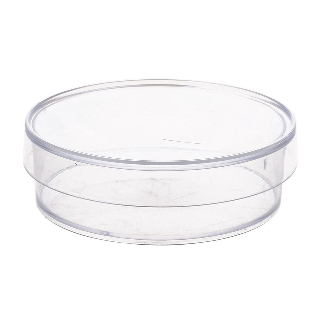 SNOWINSPRING 10 pcs Transparent color 35mm x 10mm Sterile Plastic Petri Dishes with Lid for LB Plate Yeast