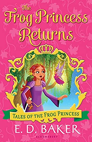 book cover of The Frog Princess Returns