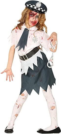 Guirca Rudy Disfraz Zombie Monitor sueño niña 7/9 años, Color ...