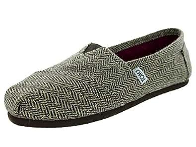 Toms Women's Classics Brown Metallic Herring Casual Shoe 5 Women US