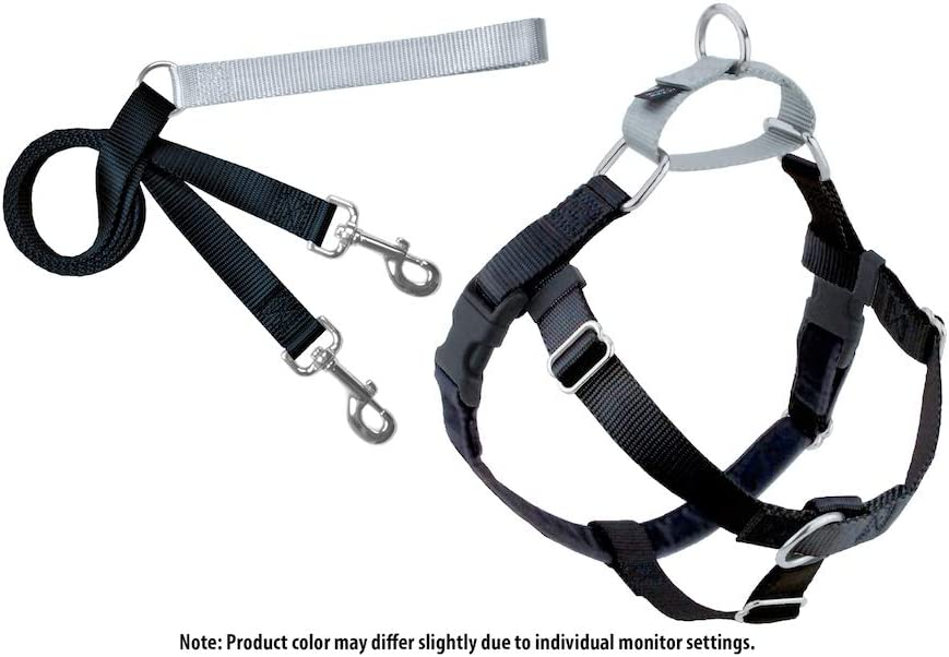 2 Hounds Design Freedom No-Pull Dog Harness with Leash, Large 51PSywLiJ0L