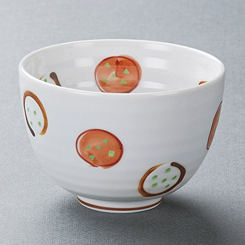 (Multi-purpose bowls Rusted round pear-shaped bowl of rice size [ 12 x 8.3cm 550㏄ ] 297g Japanese dish plates traditional oriental asian)