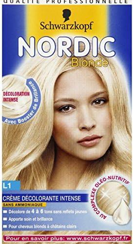 Schwarzkopf – Nordic Blonde – camomila, crema décolorante ...