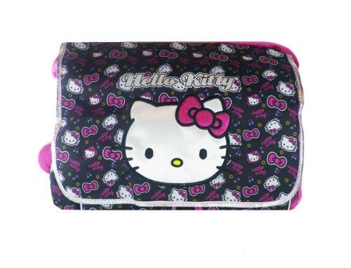 Black and Pink Face Hello Kitty Messenger Bag - Hello Kit...