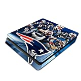 Decorative Video Game Skin Decal Cover Sticker for Sony PlayStation 4 Slim Console PS4 - Tom Brady New Patriots