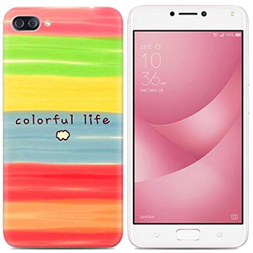 Yrlehoo For Asus Zenfone 4 Max Zc520kl 5 2 Inch Soft Silicone Case For Asus Zenfone 4 Max Zc520kl 5 2 Inch Case Cover Etui Protect Backcase Protection Rainbow Buy Online In Aruba At