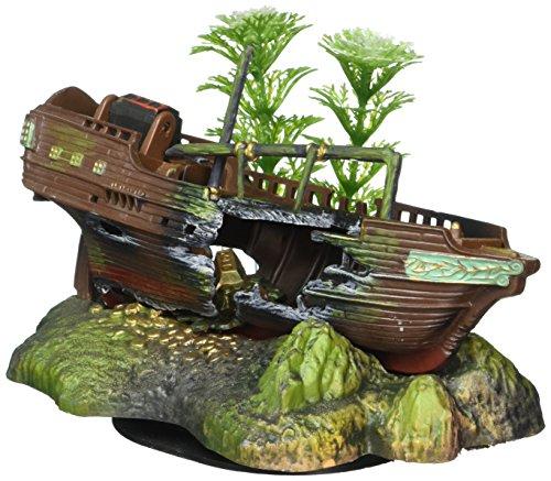 Price comparison product image Pen-Plax OJ3 Aqua Ornament Air Sunken Ship