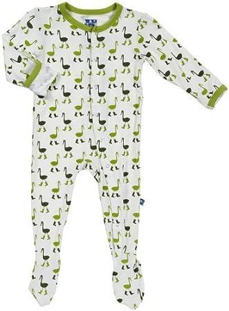 Amazon.com: kickee pants Baby Boys Imprimir Footie (bebé ...